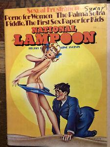 NATIONAL LAMPOON #35 Feb 1973 VINTAGE MAGAZINE