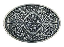 YONE Celtic Knot Oval Belt Buckle G/ürtelschnallen