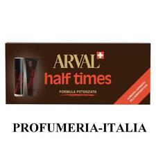 ABBRONZATURA RAPIDA - ARVAL HALF TIMES SOLAIRE -  5 FIALE + 5 FISSANTI X 10ML