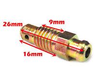 M8 x 1.25mm Steel Caliper Brake Bleed Screw / Nipple Copper.
