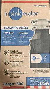 InSinkErator Badger 500 Plus 1/2 HP Garbage Disposal