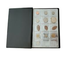 Coin Album - Holds 150 Coins - Perfect for Silver Dollars, Half Dollars, etc.