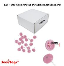 Eas 1000 Checkpoint Plastic Head Steel Pin 26Mm Pink
