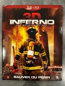 INFERNO 3D film de  Oxide Pang et Danny Pang avec LOUIS KOO en BLU RAY 3D Zone B