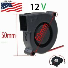 Gdstime 12V DC 50mm Blower Radial Cooling Fan Hotend Extruder RepRap 3D Printer