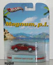 Hot Wheels Retro Entertainment Magnum, P.I. Ferrari 308 GTS QV TV Show 1:64 U