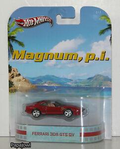 Hot Wheels Retro Entertainment Magnum, P.I. Ferrari 308 GTS QV TV Show 1:64 T