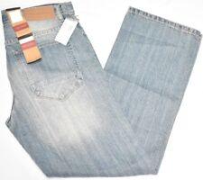 $58 NWT Mens Sean John Jeans Hamilton Relaxed Denim Light Vintage 30x32 30 N745