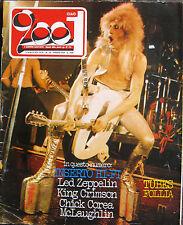 CIAO 2001 18 1976 Tubes Led Zeppelin King Crimson Rino Gaetano Orme McCartney