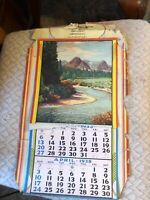Vintage 1938 Wilson General Merchandise Lambertville NJ Advertising Calendar