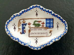 Vide poche ou coupelle en faience de Blois François 1er salamandre 1545