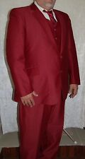 Working Men's Business Suit - The Sovereign Tailored By Barry - 100% Polyester