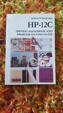 '84 Owner'S Handbook and Problem Solving Guide for Hp-12C Calculator Manual Book