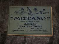 meccano laiton 1 pignon d/'angle 26 dents No30 pas estampé