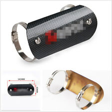 Stainless Carbon Fiber Color Motorcycles Exhaust Muffler Pipe Heat Shield Cover