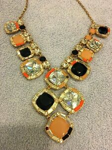 """Beautiful & Stunning Kate Spade New York """"On The Town"""" Bib Necklace"""