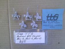 15mm TTG Medieval Mounted Knights