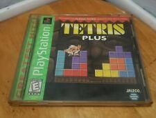 Tetris Plus (Sony PlayStation 1, 1996) Complete