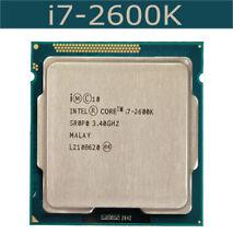 1PC Intel Core i7-2600K CPU Quad Core 8-Thread 3.4GHz LGA 1155 Processor ANS1