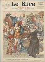Journal Le RIRE Rouge, édition de guerre N° 65 du 12 février 1916