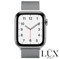 Apple Watch 44mm Milanese Loop Band Silver MTU62AM/A Genuine Original New Retail