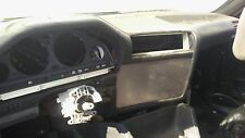 BMW E30 (1984-1991) Middle Panel Plate: Blank Black
