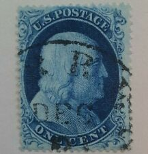 US Sc #22 type IIIa Blue w/ PSE certificate. Beautiful sound copy. Scarce issue.