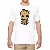 Men T-shirts Funny Graphic Tee Shirt I AM GROOT Short Sleeve Cotton Top Tees
