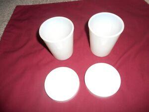 Thermostat Salton GM-5 Yogurt Maker 2 Milk Glass Jar Cup & Lid Replacement Parts