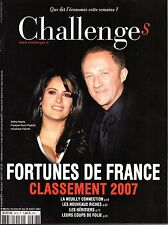 Mag 2007: Classement 500 FORTUNES DE FRANCE_SALMA HAYEK_FRANCOIS-HENRI PINAULT