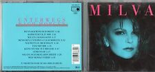 MILVA in TEDESCO CD UNTERWEGS NACH MORGEN 1988 fuori catalogo TONY CAREY