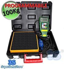 3S BILANCIA DIGITALE PROGRAMMABILE KG 100 RICARICHE GAS REFRIGERANTE R410A R134A