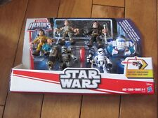 Star Wars Galactic Heroes Resistance VS First Order Pack Playskool Heroes NEW