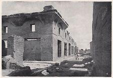 D2086 Ostia antica - Casa di Diana - Stampa d'epoca - 1923 vintage print