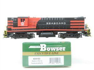 HO Scale Bowser 24103 SAL Seaboard Air Line RS-12 Diesel Locomotive #1472