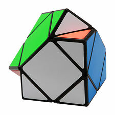 Slant Skewb Smoothly Professional Speed Magic Cube Puzzle Twist Cube - Black
