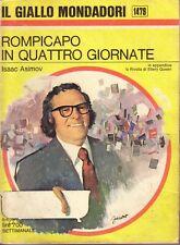 ROMPICAPO IN QUATTRO GIORNATE - ISAAC ASIMOV  - Il Giallo Mondadori