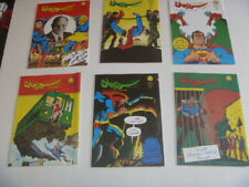 superman  Arabic comics lebanon ,60s, 6 comics  سوبرمان lot 2