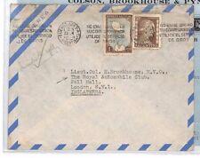 XX358 1955 ARGENTINA Buenos Aires GB London Royal Automobile Club