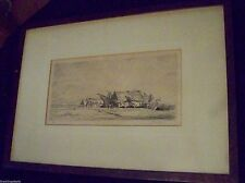 ADOLPHE BEAUFRERE ORIGINAL ETCHING -- from famed Albert Roullier Art Galleries