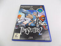 Mint Disc Playstation 2 Ps2 Timesplitters / Time Splitters 2 II Free Postage