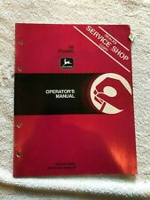 John Deere 59 Forklift Operators Manual