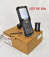 LOT OF 10x REFURBISHED Motorola MC9090-G MC9090G WM 5.0 1D Barcode Scanner