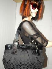 Coach  Black Soho Pleated Leather Tote #F13742 Shoulder Bag. Purse