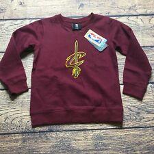 NBA Kids Medium 5/6 Cleveland Cavaliers Pullover Sweatshirt NEW