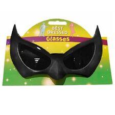 Murciélago Gafas Disfraces Murciélago Negro Motas Gafas de Sol Nuevas H