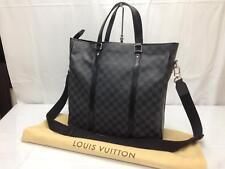 Auth Louis Vuitton Damier Graphite Tadao Hand Bag N51192 8D180030t