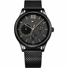 Tommy Hilfiger Men's Damon Chronograph Black Watch 1791420 BNIB