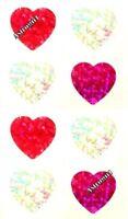 ~ Sparkle Apple Fruit Snack Healthy School Hambly Studios Glitter Stickers ~