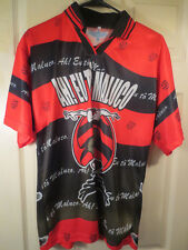 "CRF Flamengo Brazil Club Futbol Soccer Jersey ""EU to Maluco"" Size Medium"